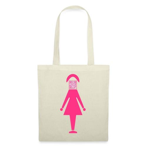 Barcode Woman - Stoffbeutel
