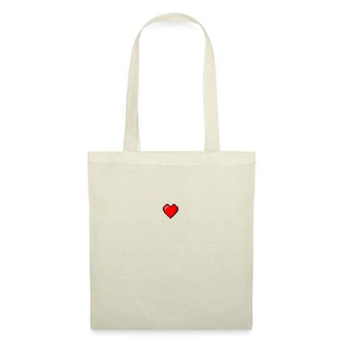 8BIT HEART - Bolsa de tela