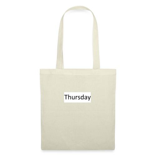Thursday - Stoffbeutel
