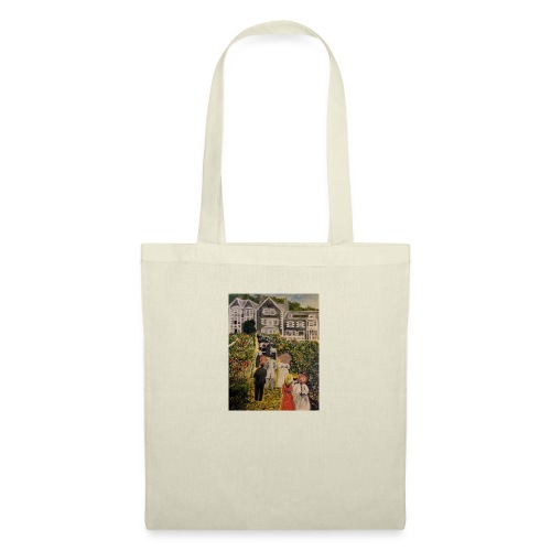Scottish hotel in the early 19200's - Tote Bag