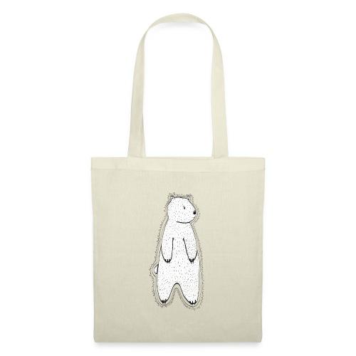 Little bear white / transparent. - Tote Bag
