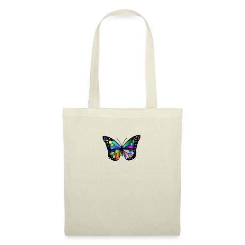 Kolorwy Motyl - Torba materiałowa