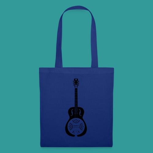 Blues Slide Guitar Stencil - Tote Bag