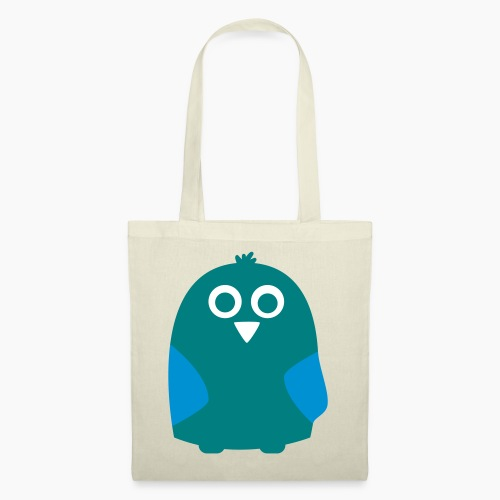 Cabbage Green Owl - Tote Bag