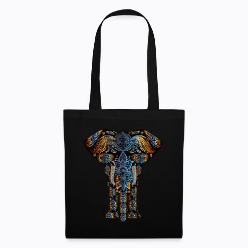 decorative elephant - Tote Bag