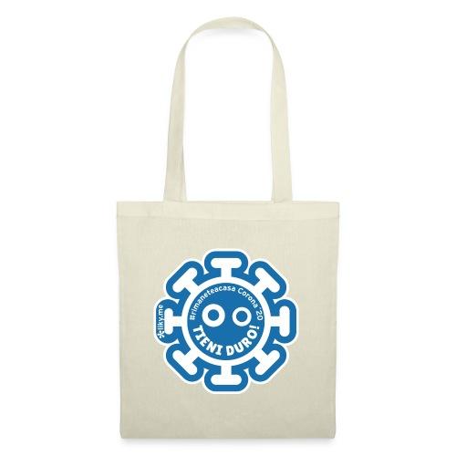 Corona Virus #rimaneteacasa azzurro - Tote Bag