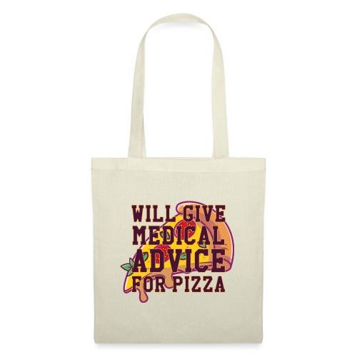 Pizza II - Stoffbeutel
