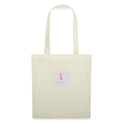 Antoinette's Luxury Cupcakes Grey Logo - Tote Bag