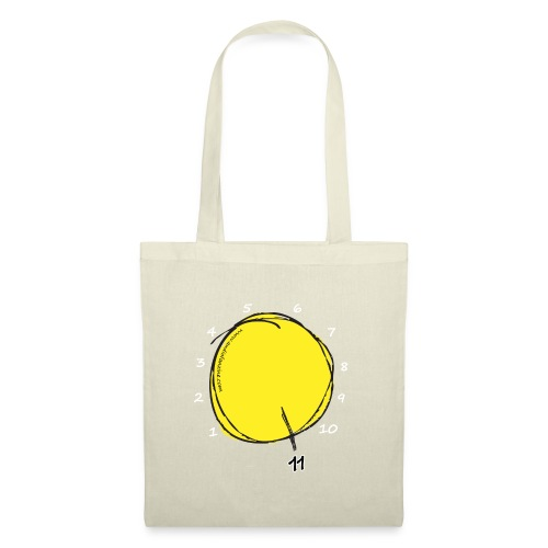 Stairway to Eleven (White) - Tote Bag