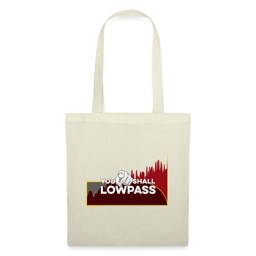 You Shall Low Pass (Red) - Tote Bag