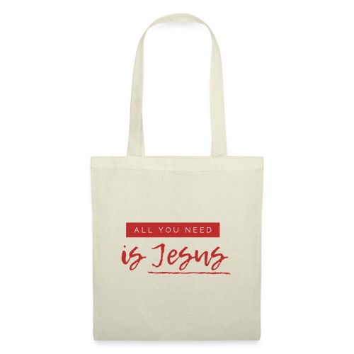 All You need is Jesus - Torba materiałowa