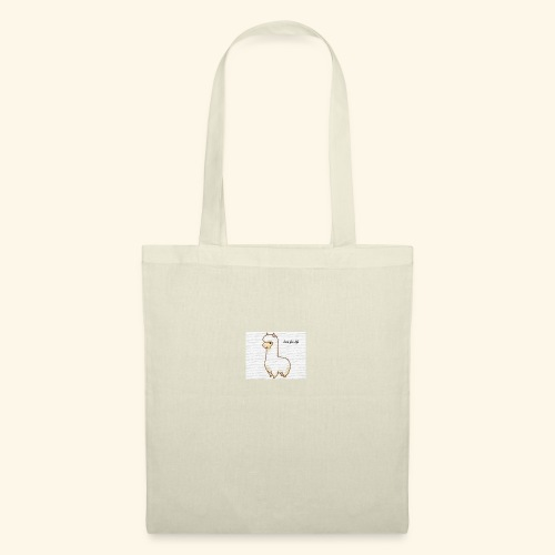 lama / alpaca - Stoffbeutel