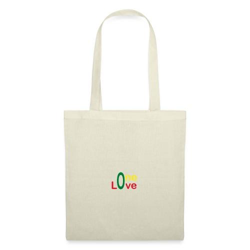 One love 01 Vert jaune rouge - rastafarie - Tote Bag