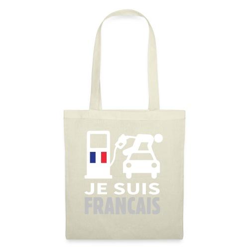 Je suis français - Sac en tissu
