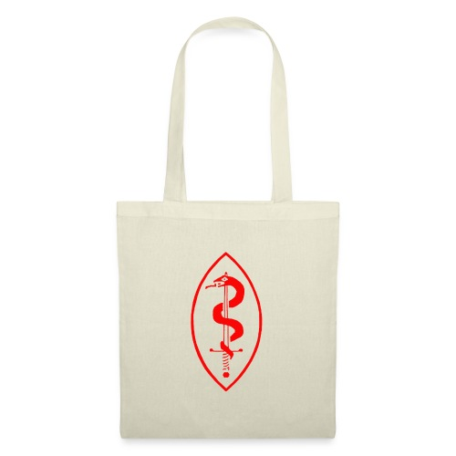 School of Mars Crest (Red) - Tote Bag