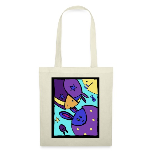 coulour bunnies (3) - Tote Bag