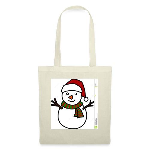 Snowman Christmas design - Tote Bag