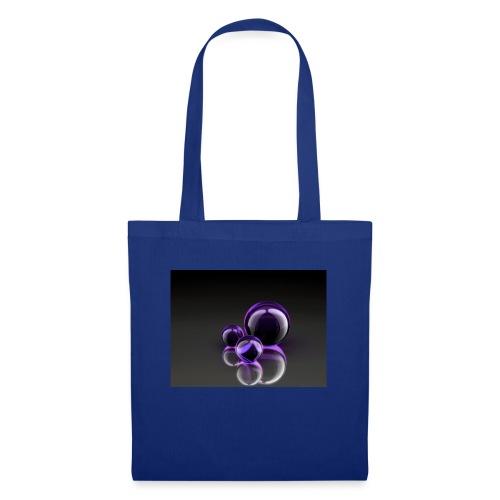 Purple Balls - Stoffbeutel