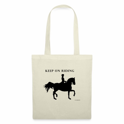 KEEP ON RIDING - Bolsa de tela