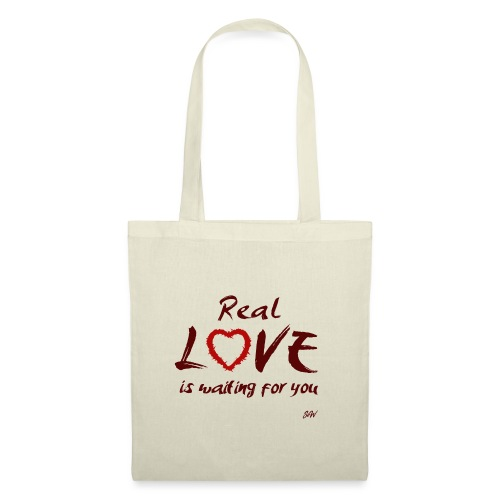 Real love is waiting for you - Tote Bag
