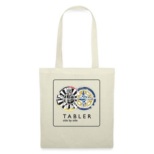 TABLER side by side - logo hell - Stoffbeutel