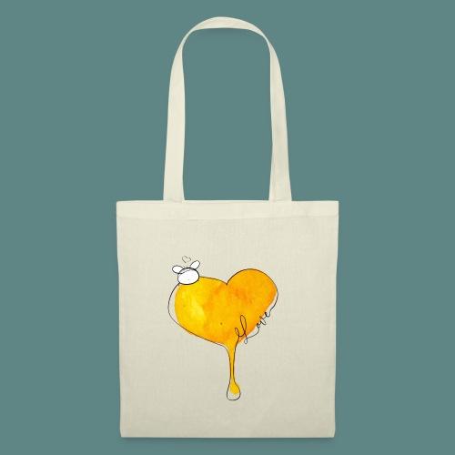 Heart Bee LOVE - Sac en tissu
