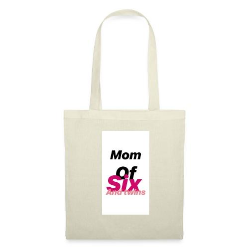 Mom of six and twins - Tote Bag
