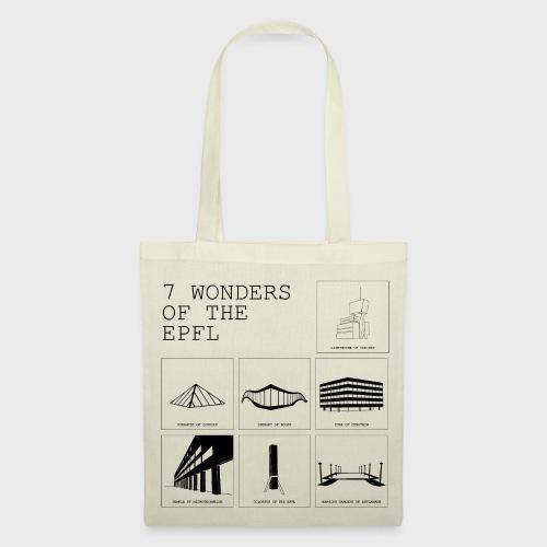 7 Wonders of the EPFL - Stoffbeutel