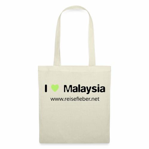 I love Malaysia - Stoffbeutel