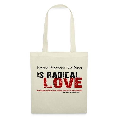 Radikale Liebe black - Stoffbeutel