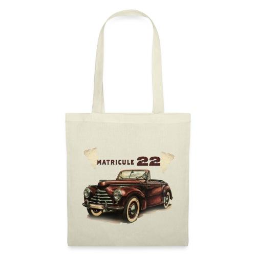 matricule 22 - Tote Bag