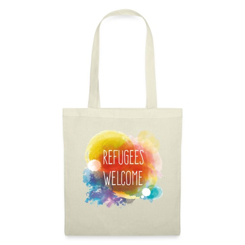 Refugees Welcome - Bolsa de tela
