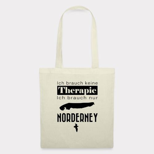 Norderney - Ich brauche keine Therapie - Stoffbeutel