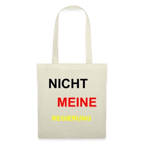 NICHT MEINE REGIERUNG - Stoffbeutel