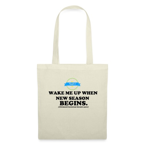 wake_me_up_when - Borsa di stoffa