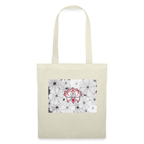 Lotus Heart - Borsa di stoffa