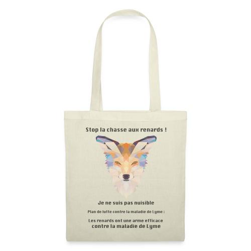 Stop chasse renard - Tote Bag