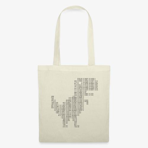 Dinosaur Binary | Google dinosaur | 404 | T-rex | - Tote Bag