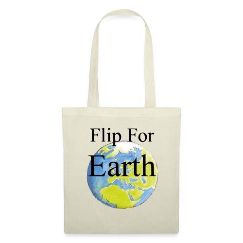 Flip For Earth T-shirt - Tygväska