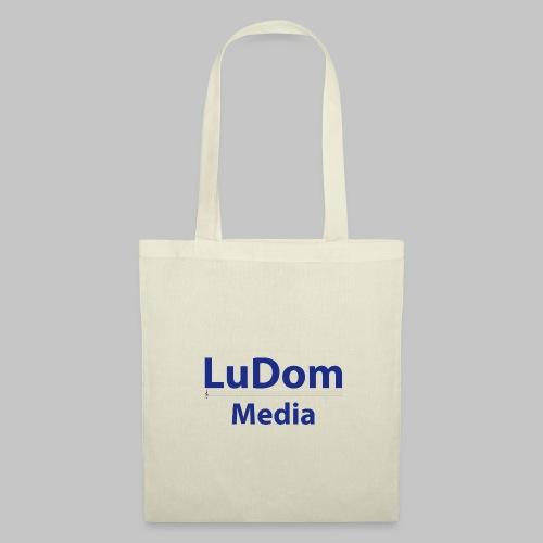 LuDom Media Merchandising - Logo - Stoffbeutel