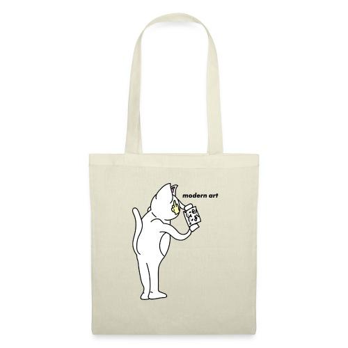Cat Modern art Rip N dip - Tote Bag
