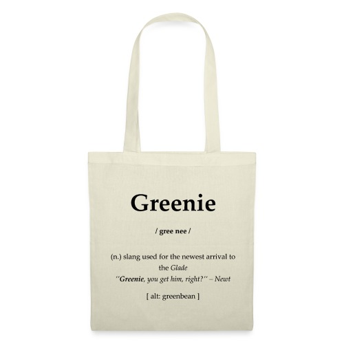 Greenie - Stoffbeutel