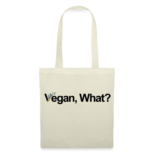 vegan what? - Tote Bag