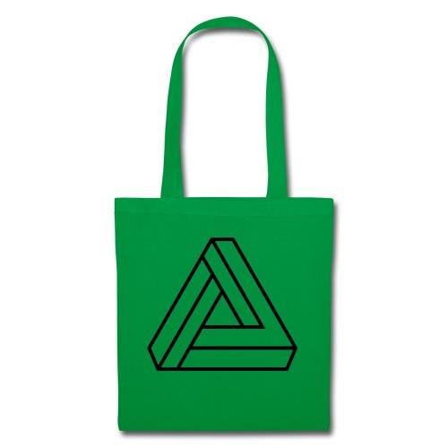 triangulos 1 - Bolsa de tela