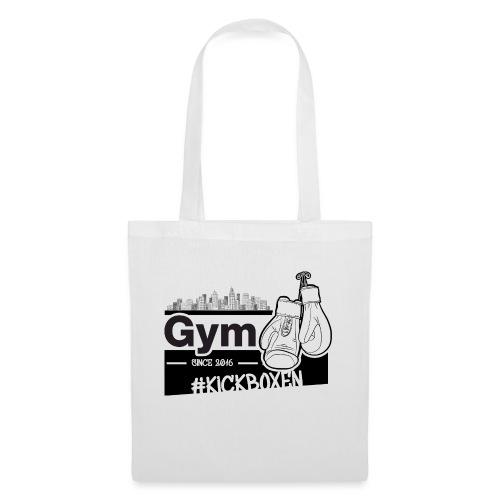 Gym in Druckfarbe schwarz - Stoffbeutel