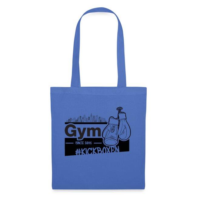 Gym in Druckfarbe schwarz