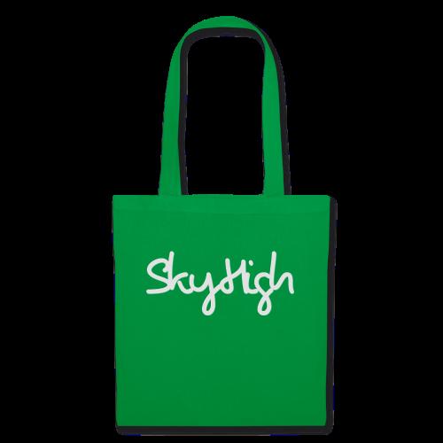 SkyHigh - Women's Premium T-Shirt - Gray Lettering - Tote Bag