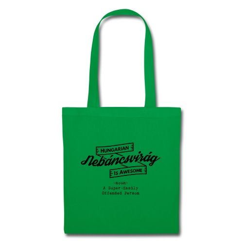 Nebáncsvirág - Hungarian is Awesome (black font) - Tote Bag