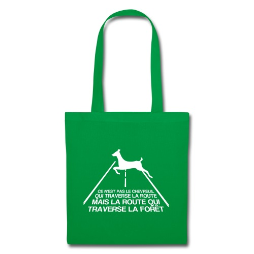 Chevreuil blanc - Tote Bag