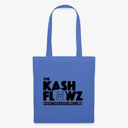 The Kash Flowz Official Web Site Black - Tote Bag